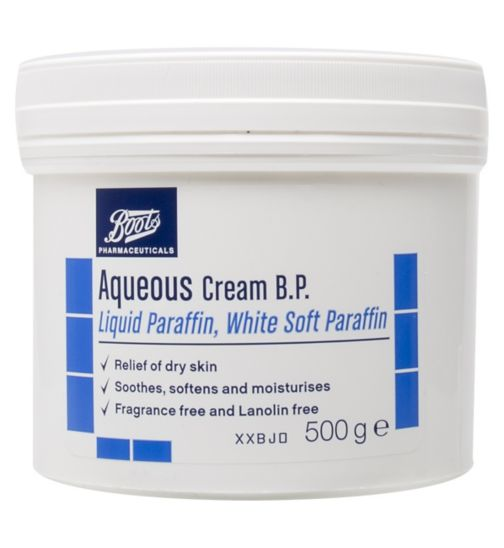 Boots Pharmaceuticals Aqueous Cream B.P - 500ml