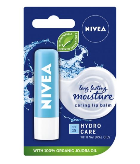 Nivea Hydro Care Lip Protection With Pure Water & Aloe Vera 4g