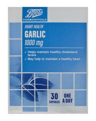 10115764: Boots Garlic 1000mg (30 Capsules)