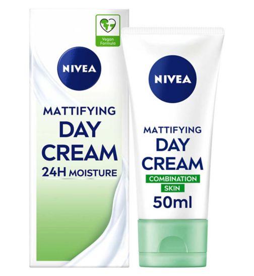 Nivea Daily Essentials Oil Free Moisturising Day Cream For Oily to Combination Skin 50ml