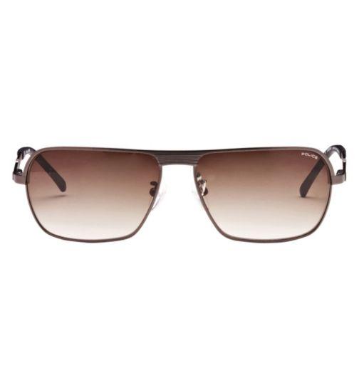 Police Men's Prescription Sunglasses - Gunmetal S8745