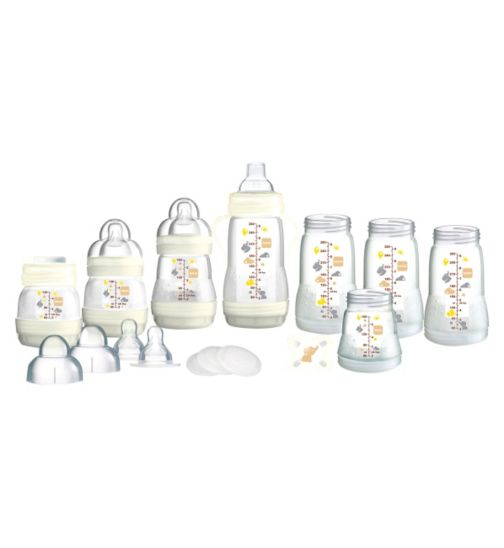 MAM Anti Colic Baby Feeding Bottles Starter Set