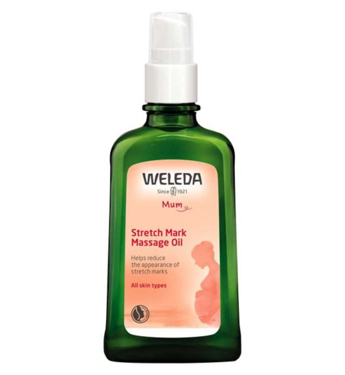 Weleda Stretch Mark Massage Oil - 1 x 100ml