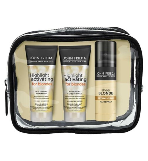 John Frieda Sheer Blonde Travel Bag