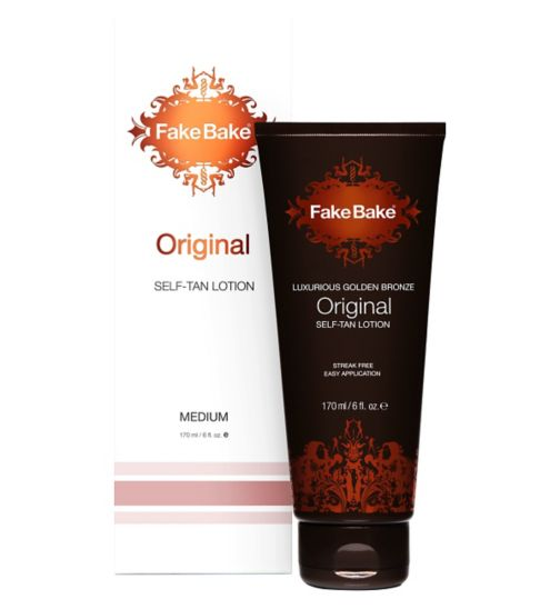 Fake Bake Lux Golden Bronze Original Self Tan