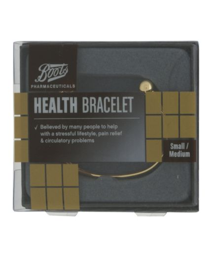 Boots Pharmaceuticals Health Bracelet  (Small/Medium)