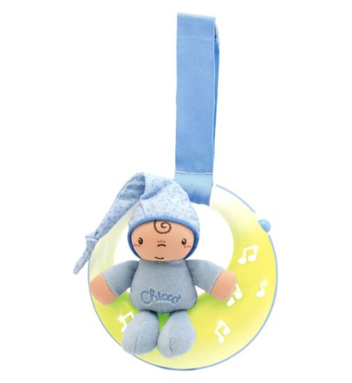 Chicco Musical Night Light Goodnight Moon - Blue