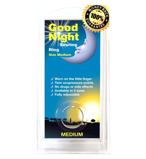 Good Night Snoring Ring -Medium