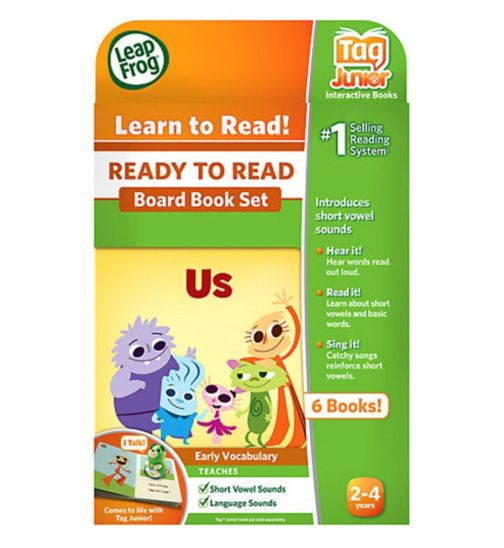 LeapFrog Tag Junior - Get Ready To Read Book Set