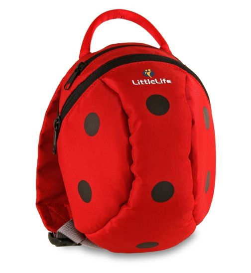 LittleLife Toddler Day Sack - Ladybird