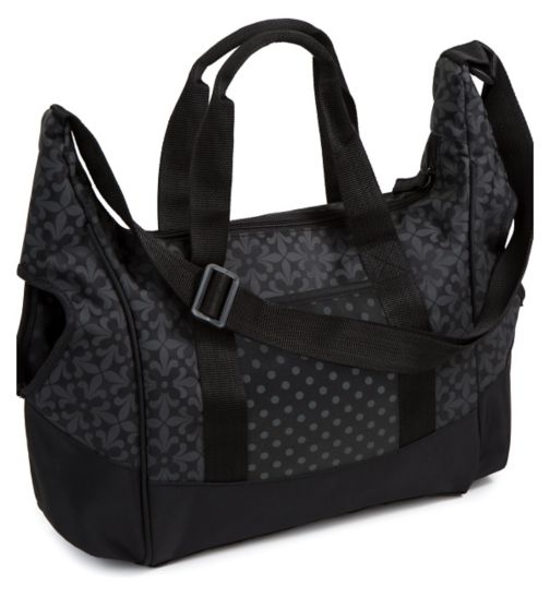 Summer Infant City Tote Baby Changing Bag - Black and Grey