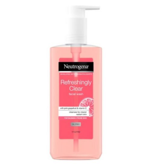 Neutrogena® Visibly Clear® Pink Grapefruit Cream Wash 150ml