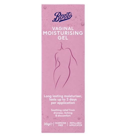 Boots Vaginal Moisturising Gel (30g Tube & Applicator)