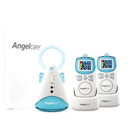 Angelcare AC401 Movement & Sound Deluxe Baby Monitor