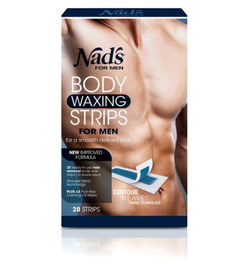 Nads For Men Body Waxing Strips For Men 20's