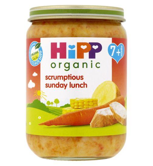 HiPP Organic Scrumptious Sunday Lunch 7+ Months 190g