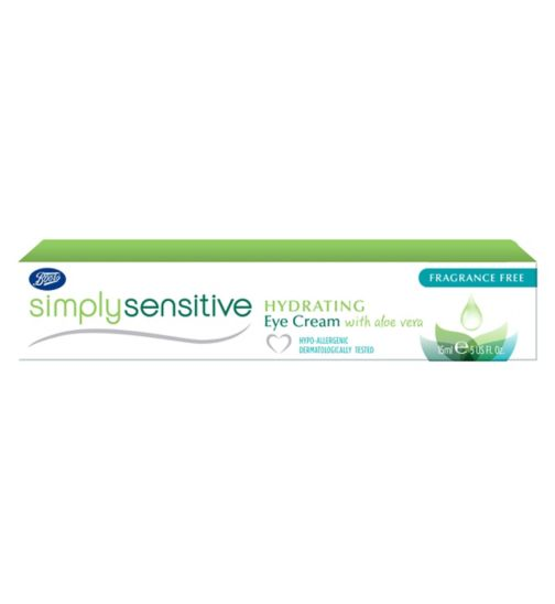 Boots Simply Sensitive Hydrating Eye Cream 15ml