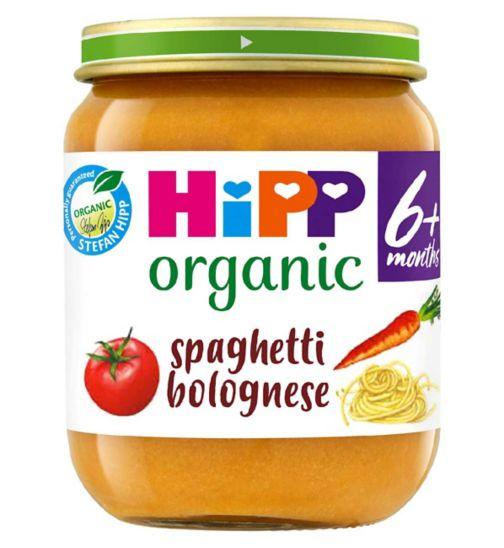 HiPP Organic Spaghetti Bolognese 6+ Months 125g