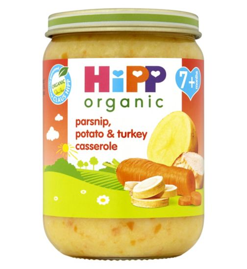 HiPP Organic Parsnip, Potato & Turkey Casserole 7+ Months 190g