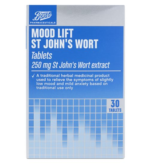 Boots Pharmaceuticals St John's Wort tablets - 30 x 250 mg