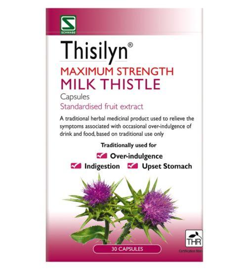 Thisilyn Maximum Strength Milk Thistle capsules (30 Capsules)