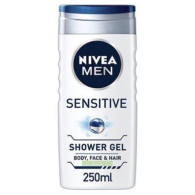 NIVEA MEN Sensitive Shower Gel 250ml