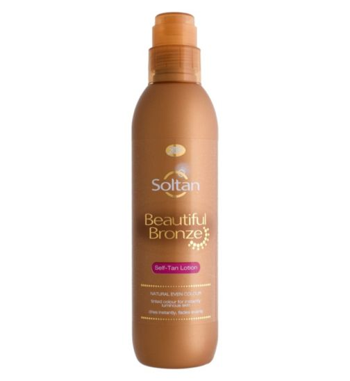 Soltan Beautiful Bronze Self-Tan Lotion 200ml