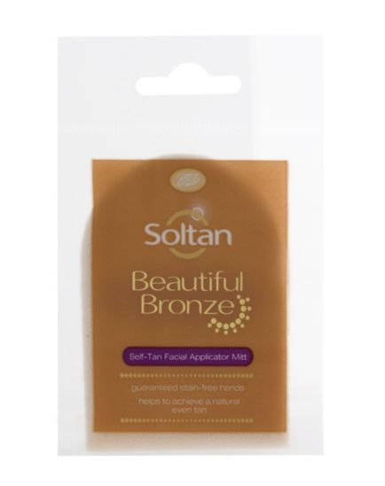 Soltan Beautiful Bronze Self-Tan Facial Applicator Mitt