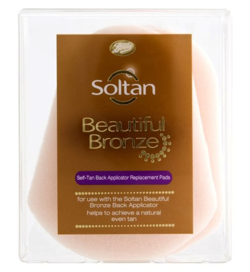 Soltan Beautiful Bronze Self-Tan Back Applicator Replacement Pads 3s