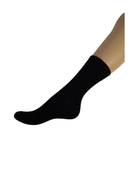 Boots Comfort Top Bamboo Socks - Black 3 pack