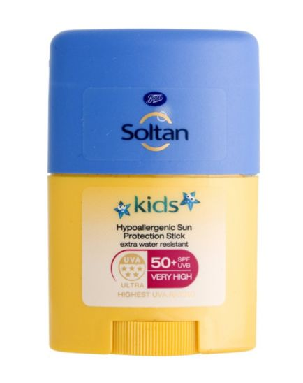 Soltan Kids Hypoallergenic Sun Protection Stick SPF50+ 25g