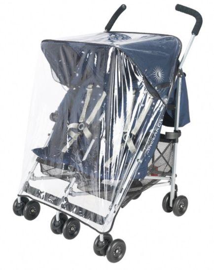 Maclaren Twin Triumph & Twin Techno Pushchair Replacement Raincover 2012