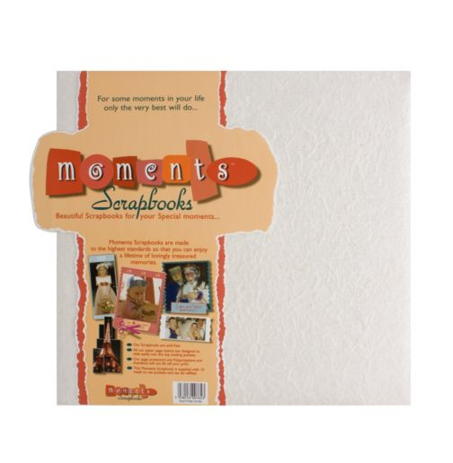 Moments Photo Scrapbook- Cream