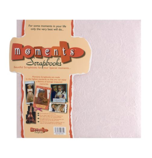 Moments Photo Scrapbook- Pink
