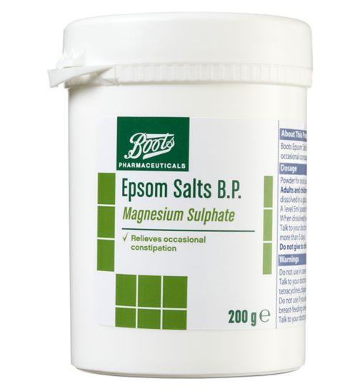 Boots Epsom Salts B.P. -  200g