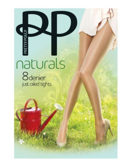 Pretty Polly Sun Oil Tights Slightly Sunkissed