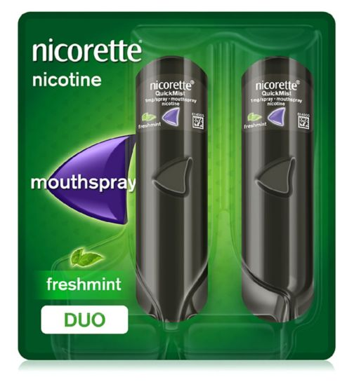 Nicorette QuickMist 1mg/spray mouthspray nicotine