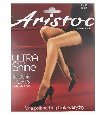 Aristoc 10d ultra shine tights nud