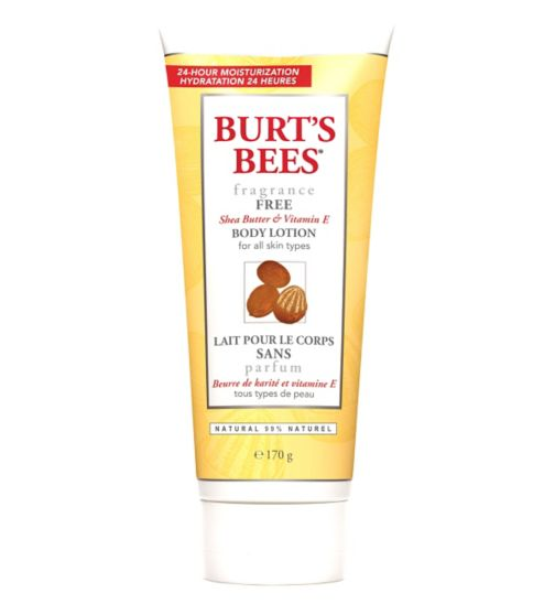 Burt's Bees® Fragrance Free Body Lotion, 170g