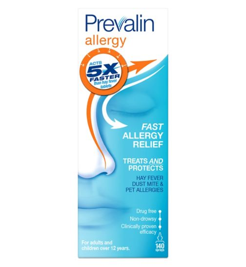 Prevalin Allergy  - 140 sprays