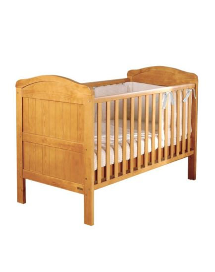 East Coast Country Cot Bed - Antique Finish