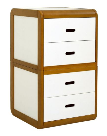 East Coast Rio Chest Of Drawers - White Finish