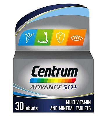 Centrum Advance 50+ - 30 tablets