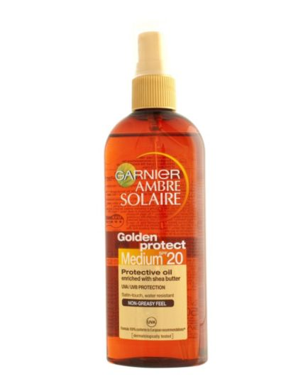 Ambre Solaire Golden Protect Sun Oil SPF20 150ml
