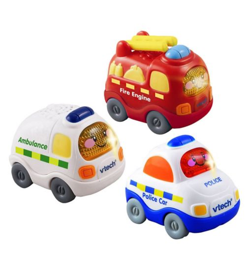 Vtech Toot Toot Drivers Set - Emergency Vehicles
