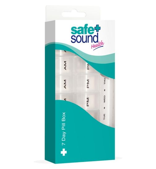 Safe & Sound- 7 Day Pill Box