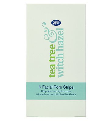 Boots Tea Tree & Witch Hazel 6 Facial Pore Strips