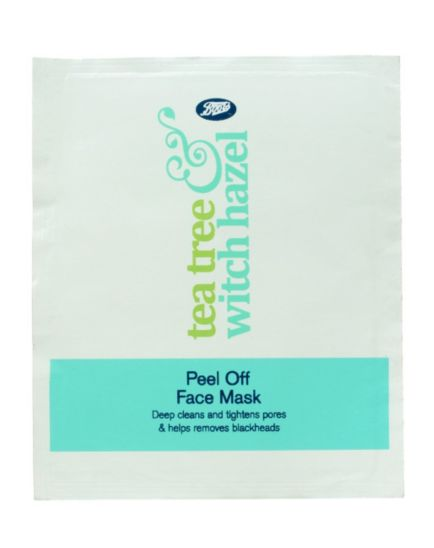 Boots Tea Tree & Witch Hazel Peel Off Face Mask 10ml