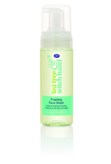 Boots Tea Tree & Witch Hazel Foaming Face Wash 150ml