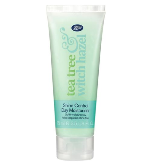 Boots Tea Tree & Witch Hazel Shine Control Day Moisturiser 75ml